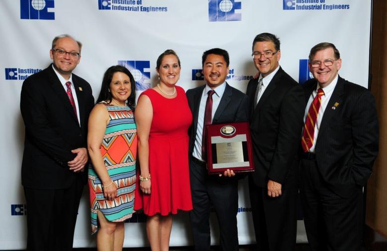 2014 IIE Outstanding Award P-Foxworthy